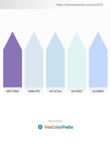 Palette image download - Light Slate Gray – Powder Blue – Powder Blue – Powder Blue – Alice Blue
