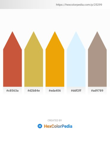 Palette image download - Indian Red – Chocolate – Orange – Alice Blue – Rosy Brown