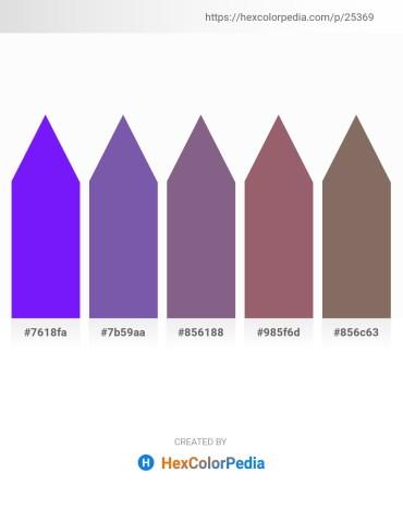 Palette image download - Dark Violet – Dark Slate Blue – Dark Salmon – Rosy Brown – Dim Gray