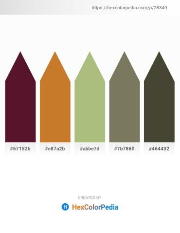 Palette image download - Lime – Peru – Dark Khaki – Dim Gray – Dark Olive Green