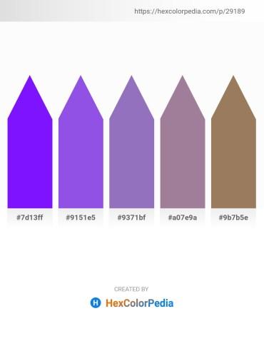 Palette image download - Dark Violet – Medium Slate Blue – Slate Blue – Rosy Brown – Rosy Brown