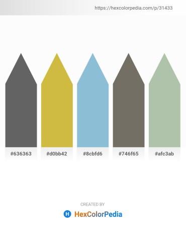 Palette image download - Dim Gray – Dim Gray – Light Steel Blue – Dim Gray – Dark Sea Green