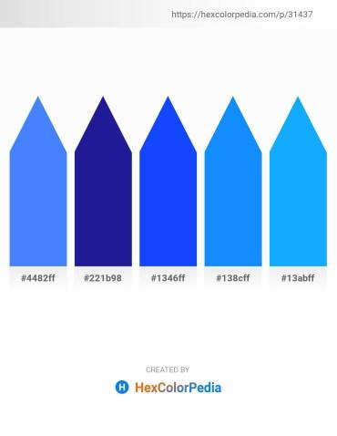 Palette image download - Dodger Blue – Midnight Blue – Blue – Dodger Blue – Dodger Blue