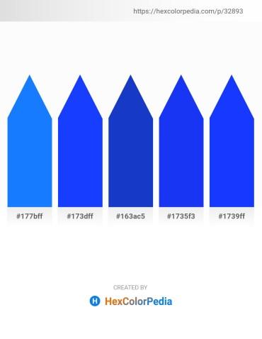Palette image download - Dodger Blue – Blue – Royal Blue – Blue – Blue