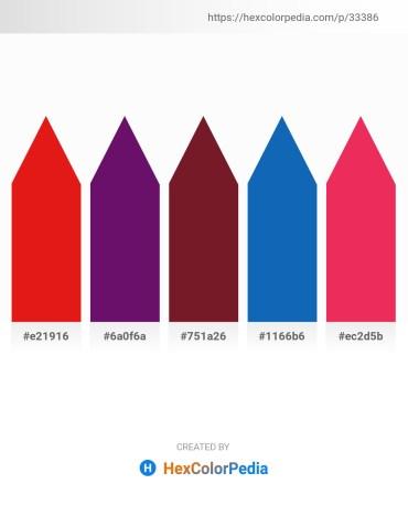 Palette image download - Crimson – Purple – Brown – Dark Olive Green – Crimson