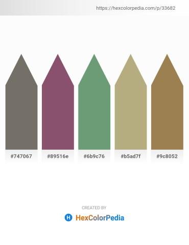 Palette image download - Dim Gray – Light Steel Blue – Cadet Blue – Dark Khaki – Dark Khaki