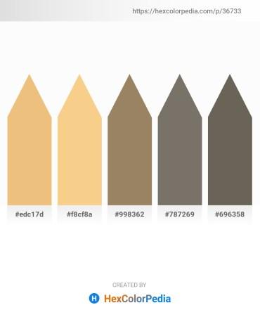 Palette image download - Khaki – Khaki – Rosy Brown – Dim Gray – Dim Gray