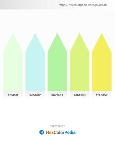 Palette image download - Honeydew – Pale Turquoise – Light Green – Khaki – Khaki