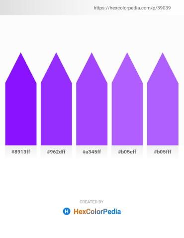 Palette image download - Dark Violet – Dark Violet – Medium Slate Blue – Medium Slate Blue – Medium Slate Blue