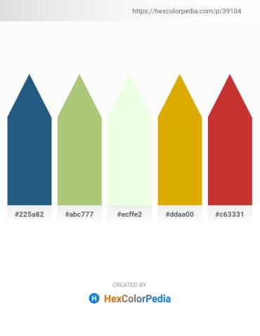Palette image download - Forest Green – Dark Khaki – Honeydew – Orange – Brown