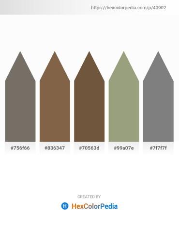 Palette image download - Dim Gray – Slate Gray – Coral – Dark Sea Green – Gray