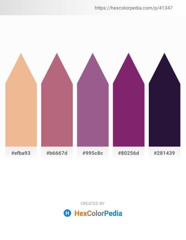 Palette image download - Dark Salmon – Rosy Brown – Peru – Dark Olive Green – Midnight Blue