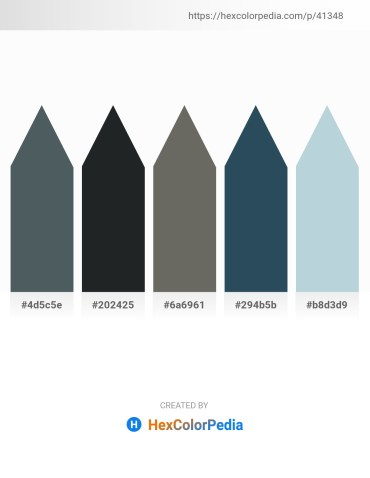 Palette image download - Dark Slate Gray – Dark Slate Gray – Dim Gray – Dark Slate Gray – Light Steel Blue
