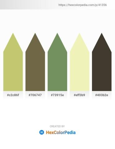 Palette image download - Dark Khaki – Dark Olive Green – Dark Sea Green – Pale Goldenrod – Dark Olive Green