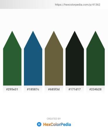 Palette image download - Dark Olive Green – Steel Blue – Dark Olive Green – Dark Slate Gray – Dark Slate Gray