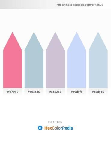 Palette image download - Light Coral – Light Steel Blue – Light Steel Blue – Alice Blue – Light Steel Blue