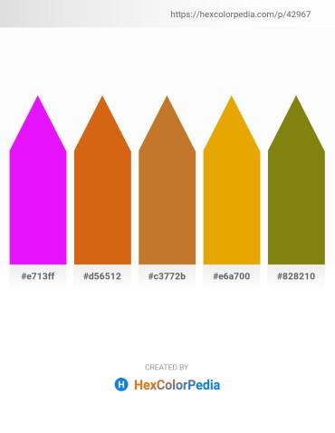 Palette image download - Dark Violet – Chocolate – Peru – Orange – Gray