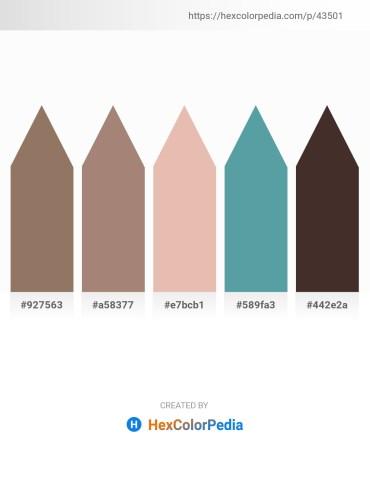 Palette image download - Gray – Rosy Brown – Burlywood – Cadet Blue – Dark Violet