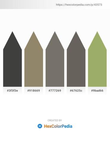 Palette image download - Dim Gray – Gray – Dim Gray – Dim Gray – Dark Khaki