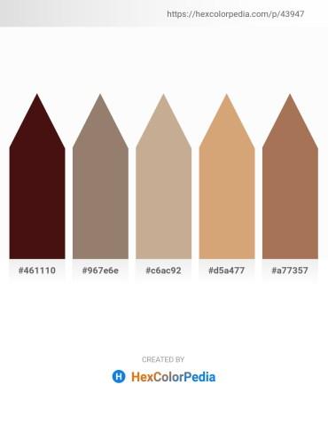 Palette image download - Indigo – Gray – Tan – Burlywood – Rosy Brown
