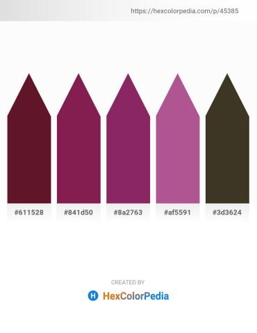 Palette image download - Indigo – Brown – Crimson – Dark Slate Gray – Black
