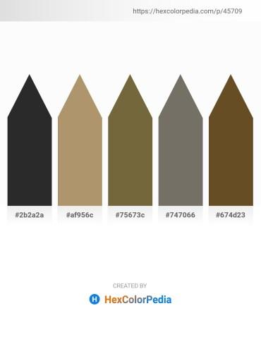 Palette image download - Black – Dark Khaki – Dark Olive Green – Dim Gray – Dim Gray