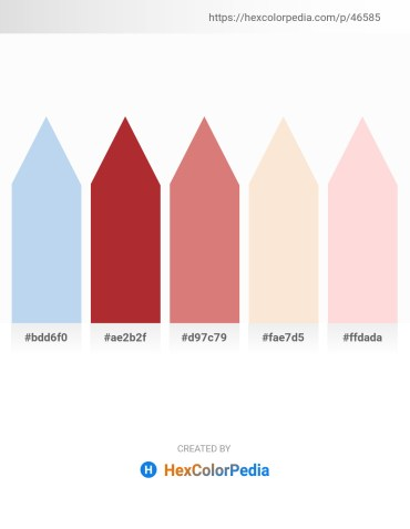 Palette image download - Pale Turquoise – Brown – Pale Violet Red – Antique White – Misty Rose