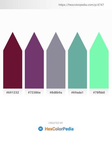 Palette image download - Purple – Medium Violet Red – Light Slate Gray – Cadet Blue – Aquamarine