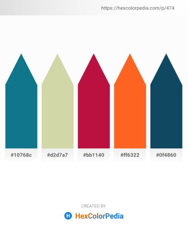 Palette image download - Dark Cyan – Tan – Crimson – Tomato – Midnight Blue