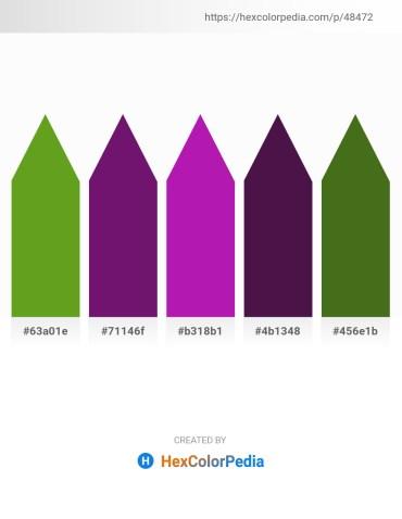 Palette image download - Olive Drab – Purple – Medium Violet Red – Sky Blue – Olive Drab