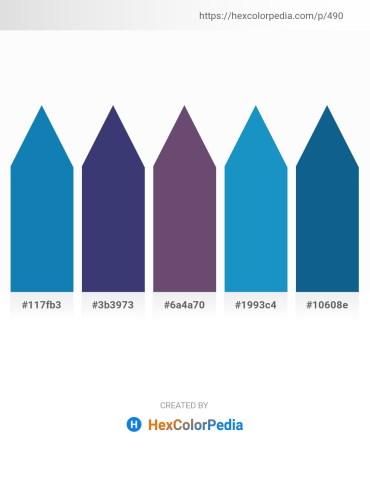 Palette image download - Dark Cyan – Dark Slate Blue – Dark Slate Blue – Midnight Blue – Medium Aquamarine
