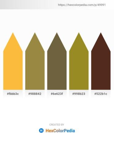 Palette image download - Sandy Brown – Dark Olive Green – Dark Olive Green – Olive Drab – Dark Olive Green