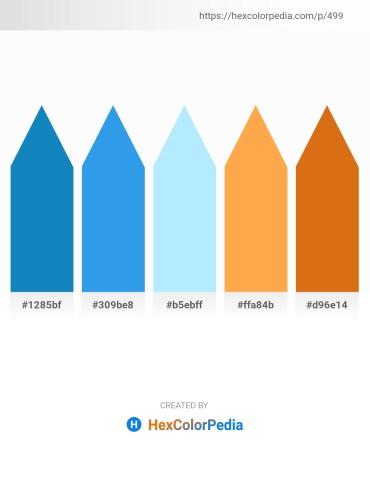 Palette image download - Dark Cyan – Royal Blue – Light Cyan – Coral – Chocolate