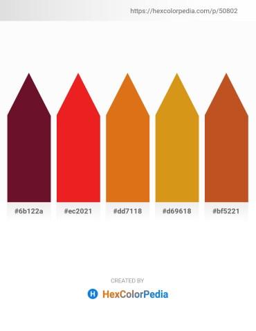 Palette image download - Purple – Crimson – Chocolate – Goldenrod – Chocolate