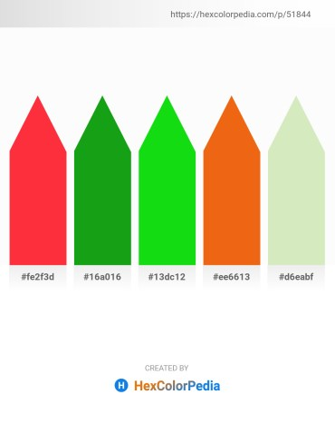 Palette image download - Tomato – Forest Green – Lime – Chocolate – Beige