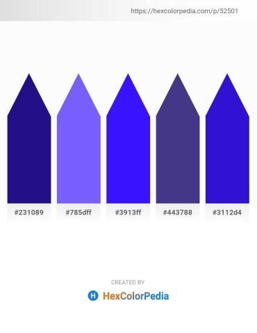 Palette image download - Midnight Blue – Medium Slate Blue – Blue – Dark Slate Blue – Medium Blue