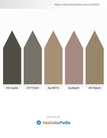 Palette image download - Dim Gray – Dim Gray – Rosy Brown – Rosy Brown – Gray