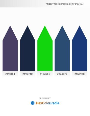 Palette image download - Dark Slate Blue – Midnight Blue – Lime – Dark Slate Blue – Midnight Blue