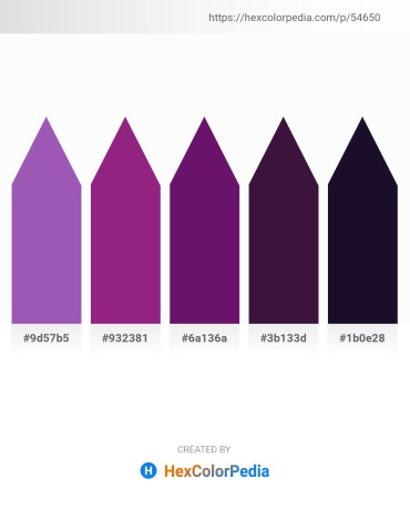 Palette image download - Medium Orchid – Medium Violet Red – Purple – Midnight Blue – Midnight Blue