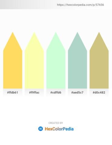 Palette image download - Gold – Moccasin – Honeydew – Light Steel Blue – Tan