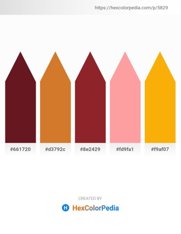Palette image download - Purple – Peru – Brown – Light Pink – Orange