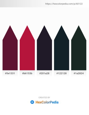 Palette image download - Aqua – Crimson – Cornflower Blue – Dark Slate Gray – Dark Slate Gray