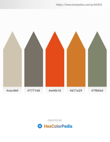 Palette image download - Tan – Dim Gray – Chocolate – Chocolate – Gray