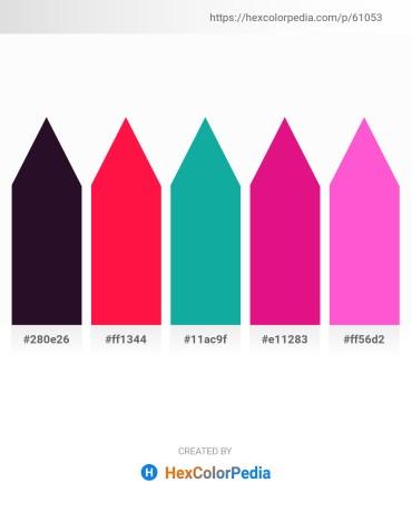 Palette image download - Lime – Red – Light Sea Green – Medium Violet Red – Hot Pink