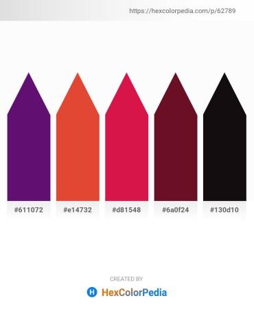 Palette image download - Indigo – Chocolate – Crimson – Dark Slate Gray – Black