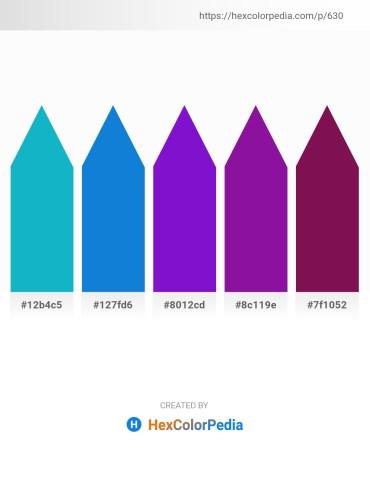 Palette image download - Light Sea Green – Royal Blue – Blue Violet – Dark Violet – Purple