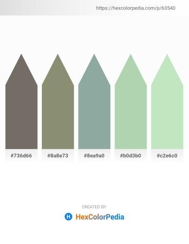 Palette image download - Dim Gray – Gray – Dark Sea Green – Dark Sea Green – Powder Blue