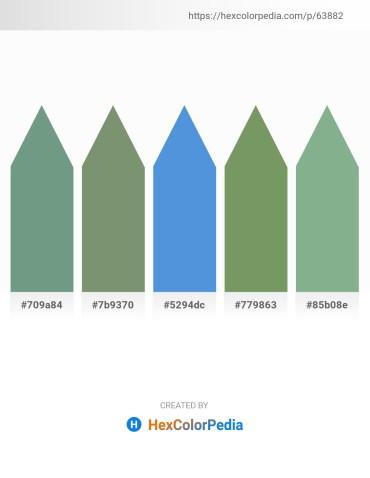 Palette image download - Cadet Blue – Dark Sea Green – Royal Blue – Dark Sea Green – Dark Sea Green