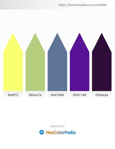 Palette image download - Navajo White – Dark Khaki – Slate Gray – Indigo – Midnight Blue