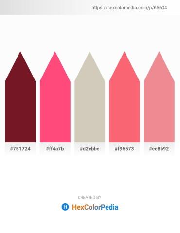 Palette image download - Purple – Tomato – Silver – Salmon – Light Coral